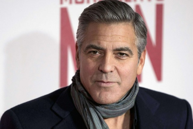 George Clooney... (PHOTO NEIL HALL, ARCHIVES REUTERS)