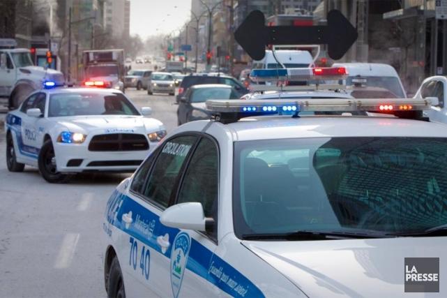 Seule une recrue policière sur trois - et de 20 à 25% des autres employés... (PHOTO ANDRÉ PICHETTE, ARCHIVES LA PRESSE)