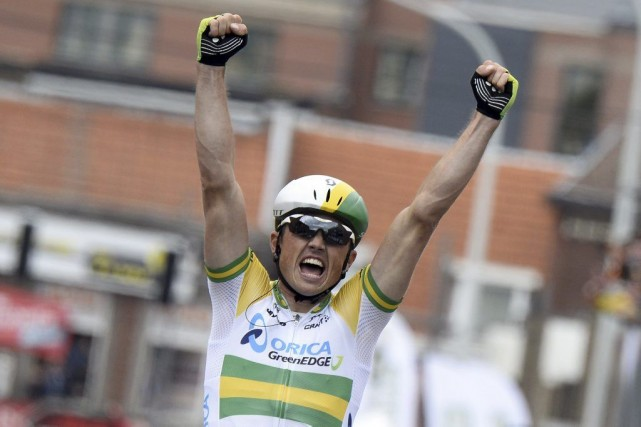Simon Gerrans... (Photo Eric Feferberg, archives AFP)