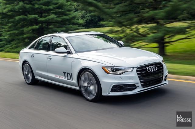 Une Audi A6... (Photo fournie par Audi)