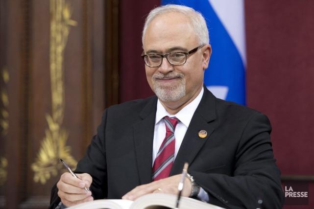 Le nouveau ministre des Finances du québec, Carlos... (Photo Jacques Boissinot, archives La Presse Canadienne)
