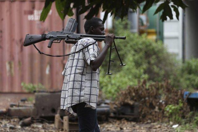 Un rebelle de la Séléka.... (Photo Emmanuel Braun, archives Reuters)