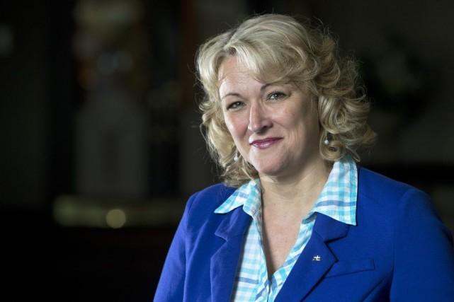 La ministre de la Sécurité publique et vice-première... (PHOTO ROBERT SKINNER, LA PRESSE)