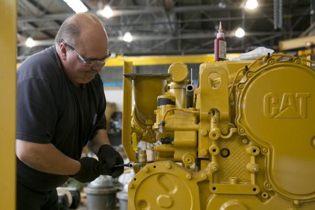 Les commandes industrielles aux États-Unis ont bondi de... (PHOTO ANDREW HARRER, ARCHIVES BLOOMBERG)