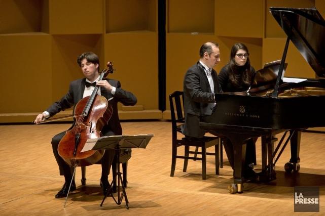 Le violoncelliste allemand Daniel Müller-Schott et le pianiste... (Photo: Robert Skinner, La Presse)