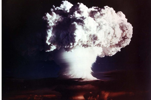 Cette photo fournie par les autorités américaines en... (Archives AFP)