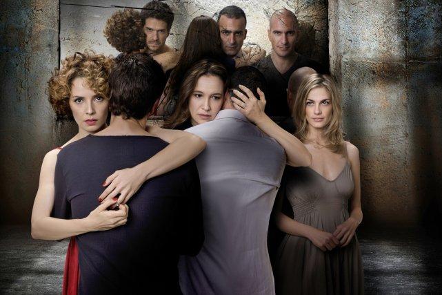 Les prisonniers... (Photo: fournie par ICI ARTV)