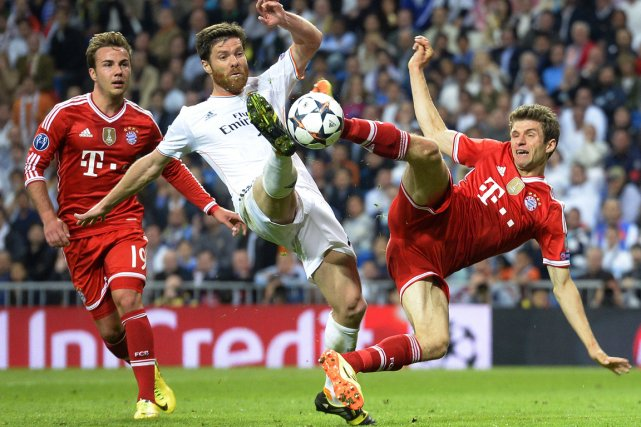 Le Real Madrid a remporté le match aller... (Photo Gerard Julien, AFP)