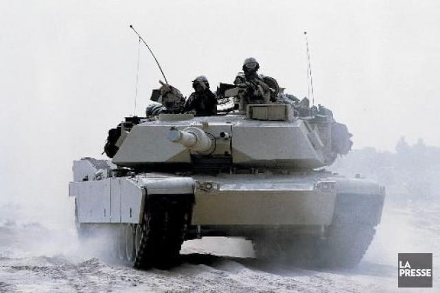 Des soldats américains durant la guerre du Golfe.... (Photo: archives La Presse)