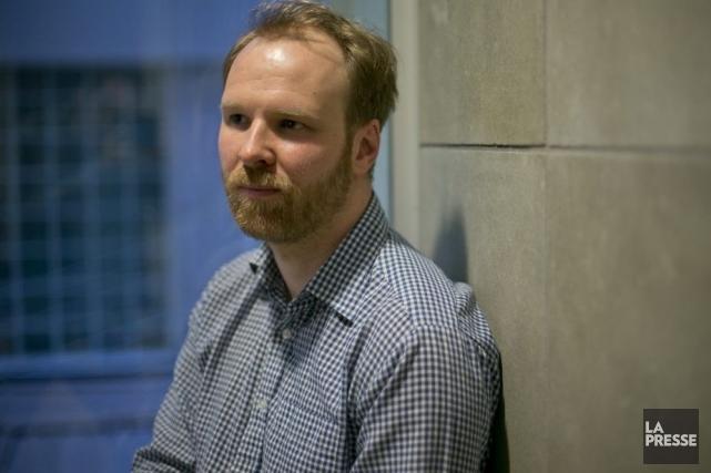 Le réalisateur Stéphane Lafleur fait partie d'une communauté... (Photo: David Boily, La Presse)