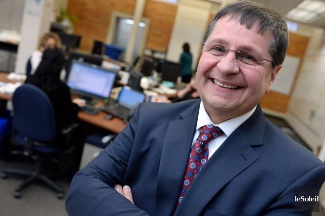 Jean-François Boulet, vice-président principal, ressources humaines et communications,... (Photo Érick Labbé, Le Soleil)