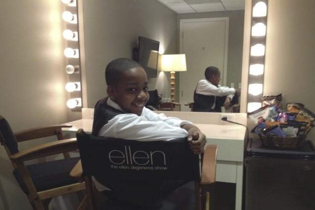 «Comme les autres invités d'Ellen, j'ai eu droit... (Photo: fournie par l'artiste)