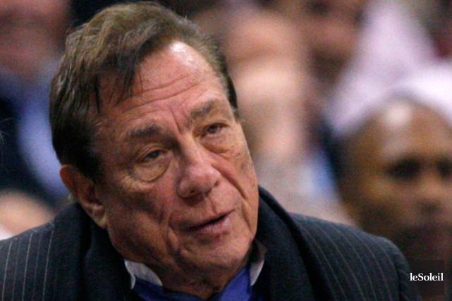 Le propriétaire des Clippers de Los Angeles, Donald... (Photothèque Le Soleil)