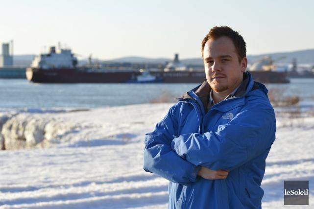 Depuis 2010, Alexandre Morissette navigue sur les bateaux... (Photo Yan Doublet, Le Soleil)