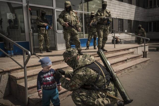 Le ministre russe de la Défense Sergueï Choïgou a «à nouveau assuré que les... (Photo The New York Times)