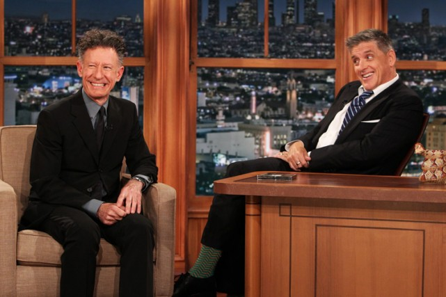 Lyle Lovett était l'invité de Craig Ferguson mercredi... (Photo: AP)