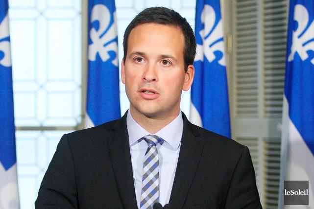 Alexandre Cloutier estime qu'élargir le vote à la... (Photothèque Le Soleil, Pascal Ratthé)