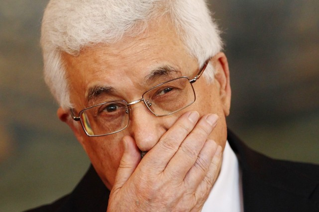 Le président de l'Autorité palestinienne, Mahmoud Abbas, à... (PHOTO HEINZ-PETER BADER, ARCHIVES REUTERS)