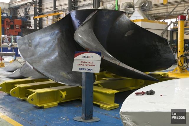 La semaine dernière, l'américain General Electric a offert... (PHOTO HUGO-SÉBASTIEN AUBERT, ARCHIVES LA PRESSE)