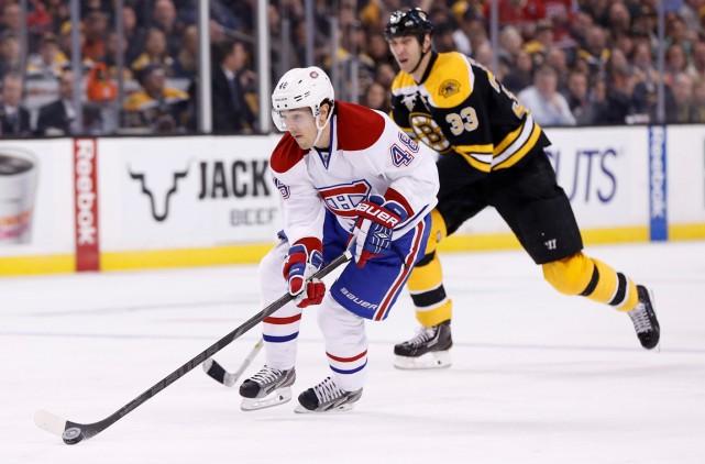 Daniel Brière et le Canadien font figure de... (Photo Greg M. Cooper, USA Today)