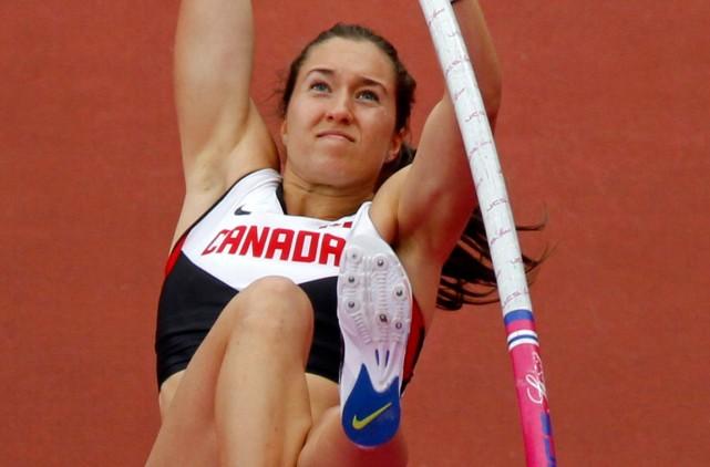 La perchiste Mélanie Blouin vise toujours les Jeux... (Photo Mark Blinch, archives Reuters)