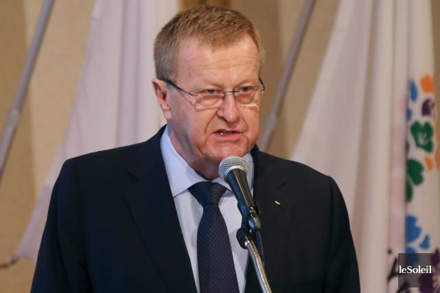 Le vice-président du Comité international olympique, John Coates.... (Photo le Soleil)