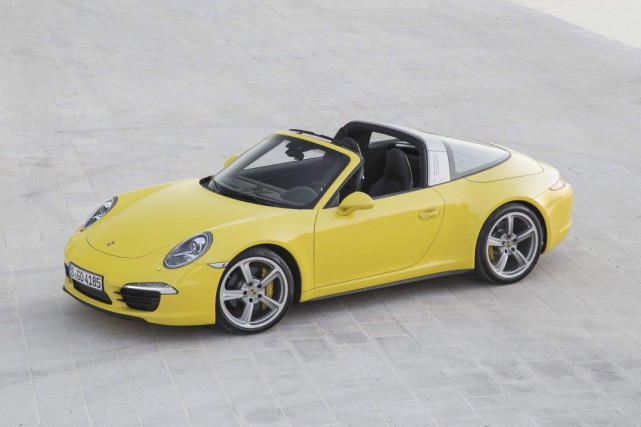 Porsche 911 Targa.... (Photo fournie par Porsche)
