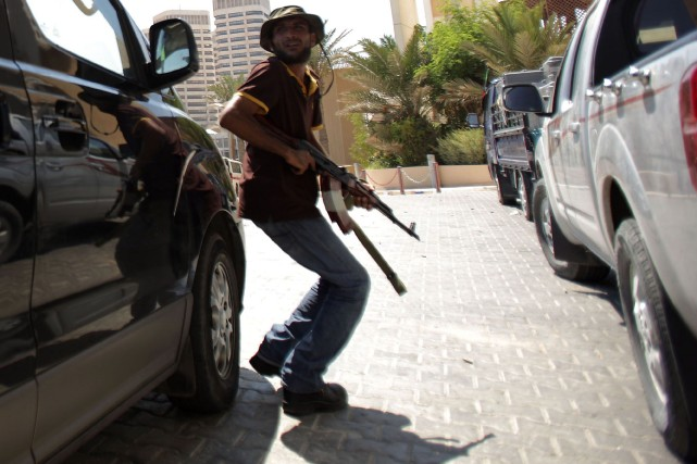 Des hommes armés ont attaqué mardi les locaux du Congrès général national (CGN,... (PHOTO PATRICK BAZ, Archives AFP)