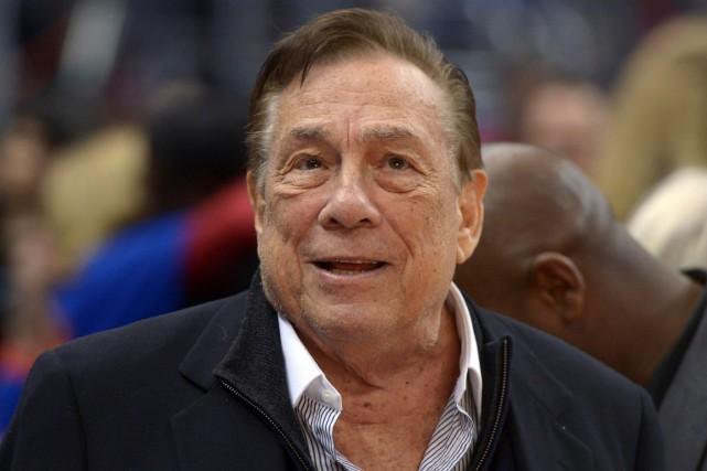 Le propriétaire des Clippers de Los Angeles, Donald... (Photo Kirby Lee, USA Today)