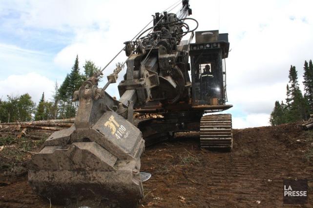 Produits forestiers Résolu a annoncé, mercredi, le dépôt d'un avis d'arbitrage... (Photo Gabriel Delisle, Archives La Presse)