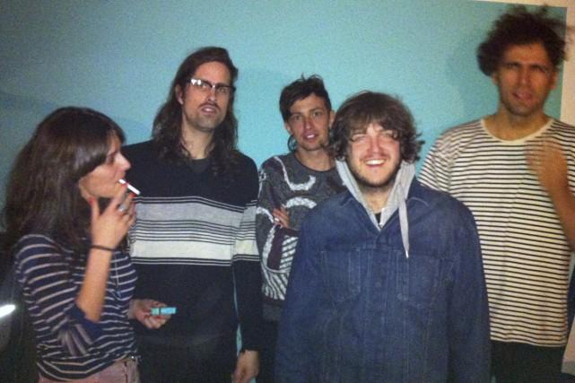 Le groupe montréalais Jesuslesfilles a peaufiné ses chansons... (Photo: fournie par le groupe)