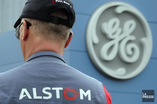 L'industriel Alstom(ALSMY)a préféré l'offre de l'américain... (PHOTO SEBASTIEN BOZON, AFP)