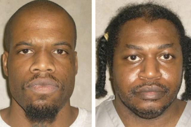 Clayton Lockett et Charles Warner.... (Photo: Reuters)