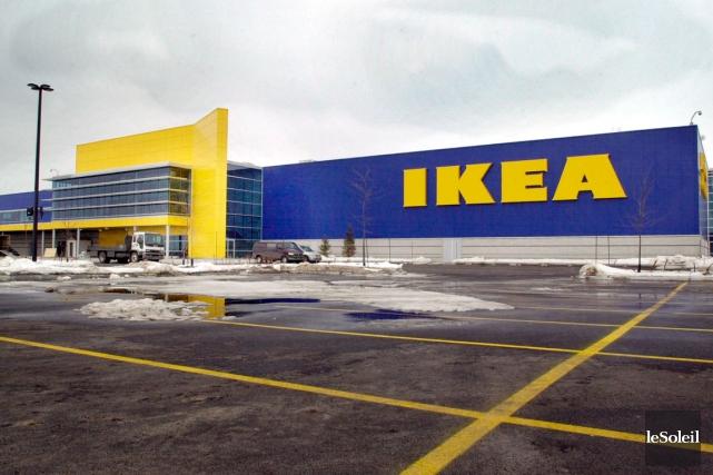 Le centre de cueillette IKEA àQuébec sera ouvert... (Photothèque Le Soleil)