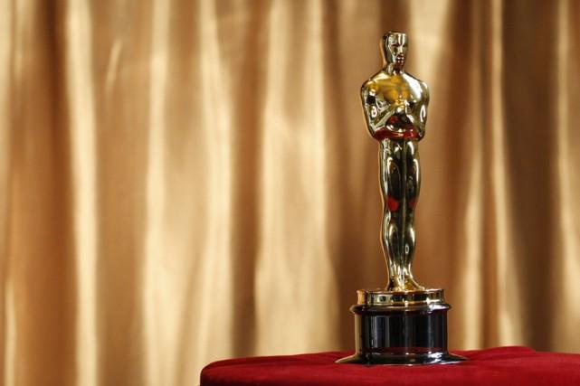 Une statuette d'Oscar remportée en 1939 par le légendaire directeur de la... (Archives Reuters)