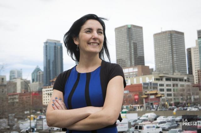 Catherine Gervais est présidente de Commerce international Québec.... (PHOTO OLIVIER PONTBRIAND, LA PRESSE)