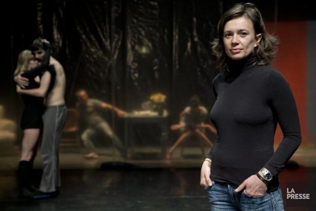 La chorégraphe Estelle Clareton propose une pièce sur... (Photo: David Boily, La Presse)