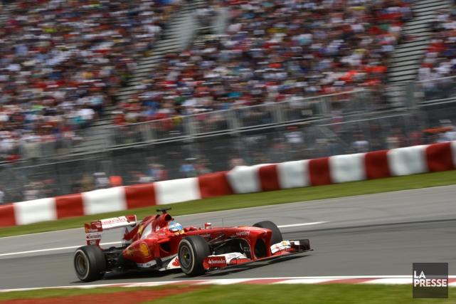 Le Grand Prix aurait besoin d'un coup de... (Photo Bernard Brault, archives La Presse)