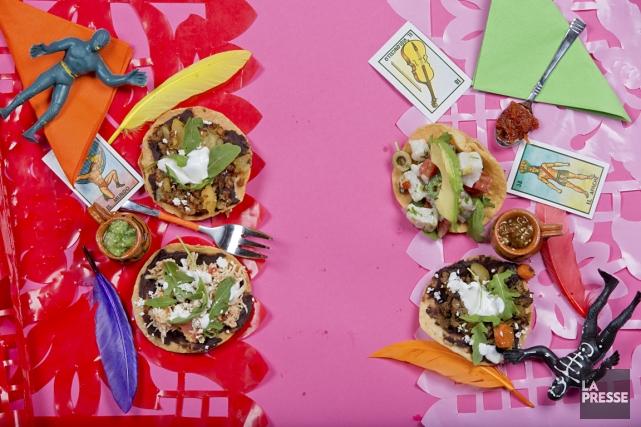 La cuisine mexicaine a plus d'une incarnation. On peut savourer de jolie façon... (Photo David Boily, La Presse)