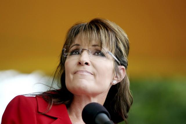 Sarah Palin, à Manchester, au New Hampshire, en... (PHOTO Cheryl Senter, ARCHIVES THE NEW YORK TIMES)
