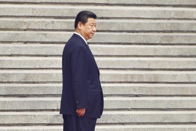 Le président chinois Xi Jinping, à Pékin, en... (PHOTO PETAR KUJUNDZIC, ARCHIVES REUTERS)