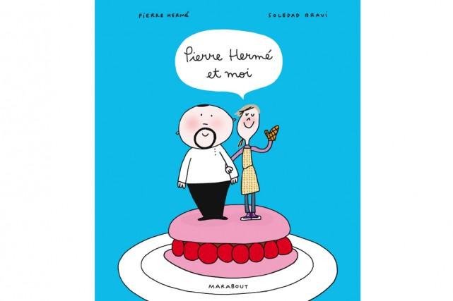 Le pâtissier Pierre Hermé, célèbre notamment pour ses macarons, dévoile en... (Photo Éditions Marabout)