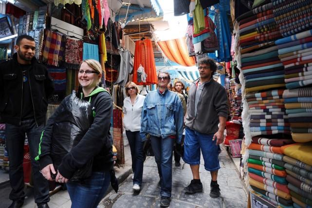 Le tourisme représente un segment très important de... (PHOTO FETHI BELAID, ARCHIVES AFP)