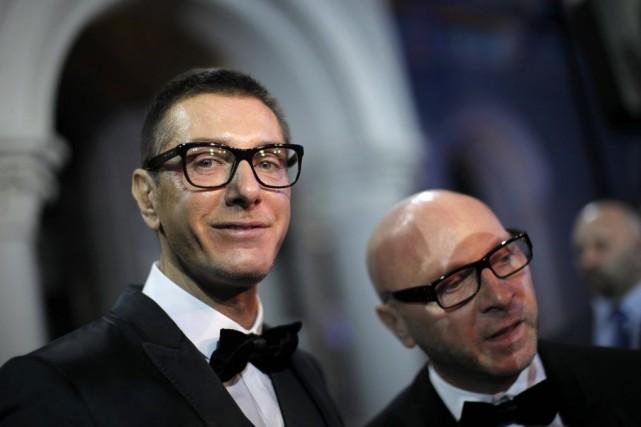 Domenico Dolce, 55 ans, et Stefano Gabbana, 51... (Photo Carlos Barria, archives Reuters)
