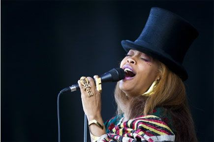 Erykah Badu... (Photo: archives La Presse Canadienne)
