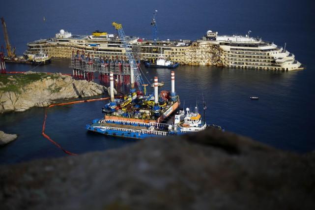 L'Observatoire de surveillanceavait relevé que si le Concordia... (Photo MAX ROSSI, Reuters)