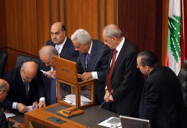 Dans ce frêle pays (Liban), le choix du... (Photo AFP)