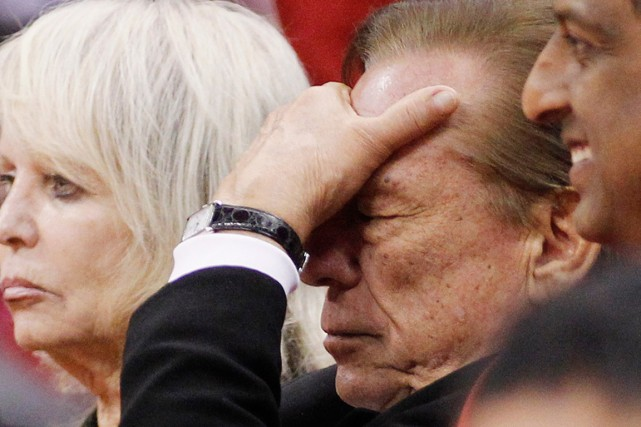 Donald Sterling, le propriétaire des Clippers de Los... (Photo Danny Moloshok, archives Reuters)