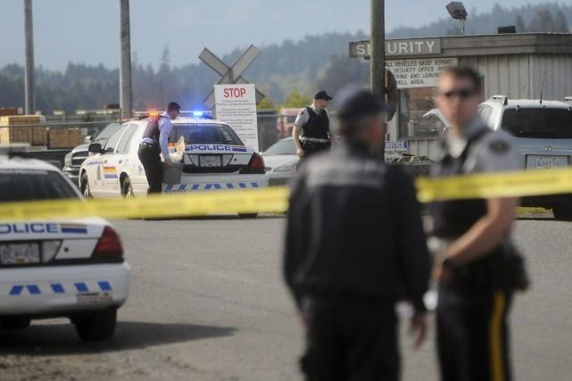 Les policiers ont été appelés vers 7 h... (Photo AARON HINKS, Reuters)