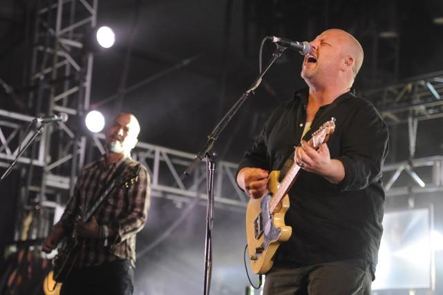 Joey Santiago etCharles «Black Francis» Thompson des Pixies... (Photo: AP)